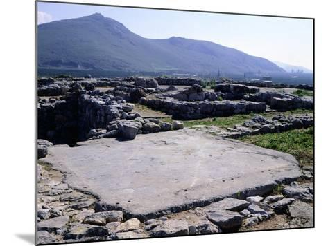 The Palace of Tiryns, Greece, Mycenaean Civilization, 8th Century BC--Mounted Giclee Print