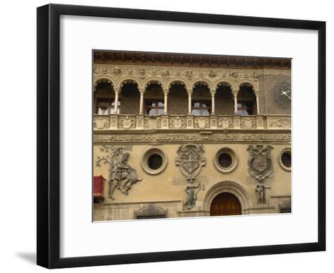 Spain, Aragon, Tarazona Town Hall--Framed Art Print