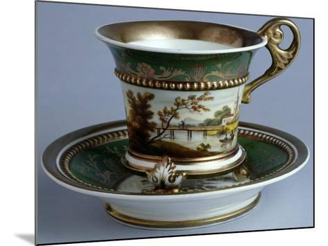 Cup and Saucer, Early Tablewares Series, Ceramic--Mounted Giclee Print
