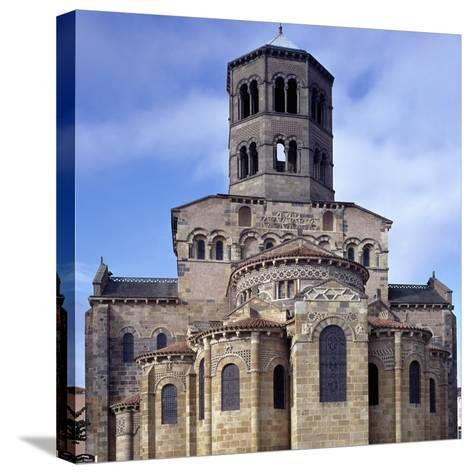 St. Austremoine Church Apse, Issoire, France, 12th Century--Stretched Canvas Print