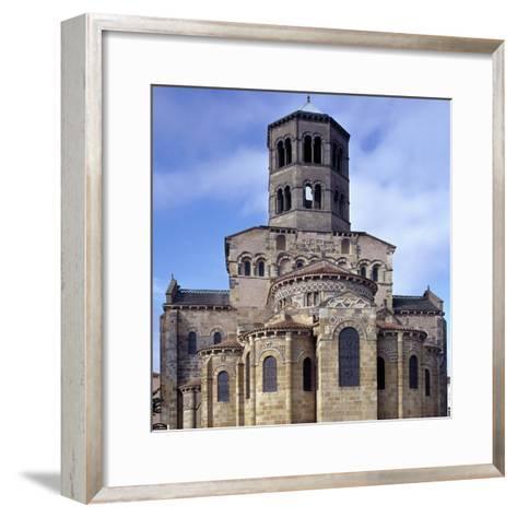 St. Austremoine Church Apse, Issoire, France, 12th Century--Framed Art Print
