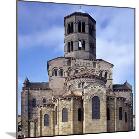 St. Austremoine Church Apse, Issoire, France, 12th Century--Mounted Giclee Print