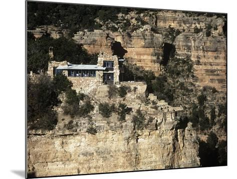 Usa, Arizona, Grand Canyon National Park, Lookout Studio at South Rim of Grand Canyon--Mounted Giclee Print