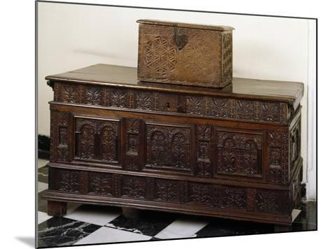 Carved Chest and Trunk, Spain--Mounted Giclee Print