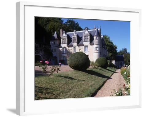 France, Centre, Indre-Et-Loire, Reugny, Chateau De La Côte--Framed Art Print