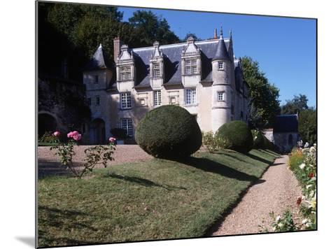 France, Centre, Indre-Et-Loire, Reugny, Chateau De La Côte--Mounted Giclee Print
