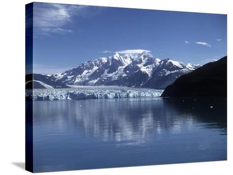 USA, Alaska, Glacier Bay National Park and Preserve, Glacier--Stretched Canvas Print