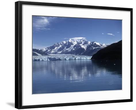 USA, Alaska, Glacier Bay National Park and Preserve, Glacier--Framed Art Print