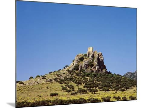Spain, Extremadura, Almorchon, Castle--Mounted Giclee Print