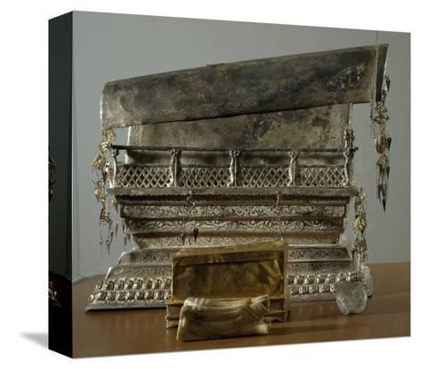 Silver Reliquary, China, Sung Dynasty, 10th-13th Century--Stretched Canvas Print