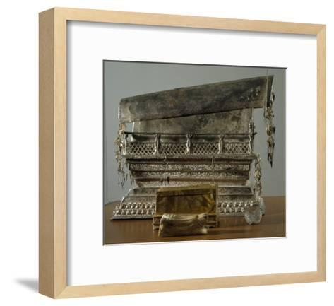 Silver Reliquary, China, Sung Dynasty, 10th-13th Century--Framed Art Print