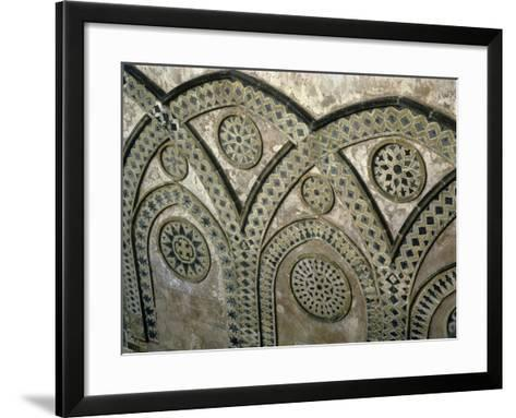 Italy, Sicily, Palermo Province, Monreale, Monreale Cathedral, Upper Part of Facade--Framed Art Print