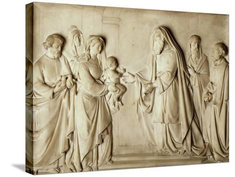 Presentation of Jesus in Temple--Stretched Canvas Print