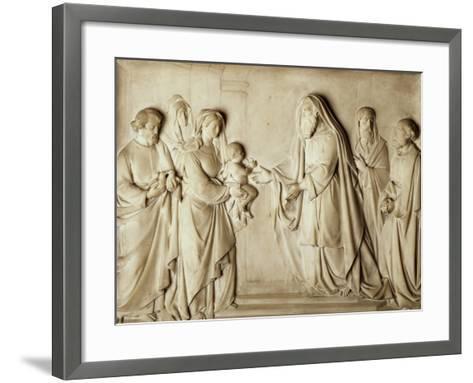 Presentation of Jesus in Temple--Framed Art Print