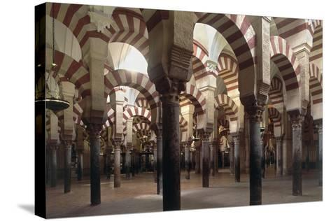 Spain, Andalusia, Cordoba, Historic Centre, Great Mosque or Mezquita--Stretched Canvas Print