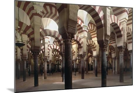 Spain, Andalusia, Cordoba, Historic Centre, Great Mosque or Mezquita--Mounted Giclee Print
