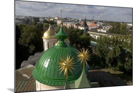 Russia, Yaroslavl, Cathedral at Monastery of Transfiguration of Savior--Mounted Giclee Print