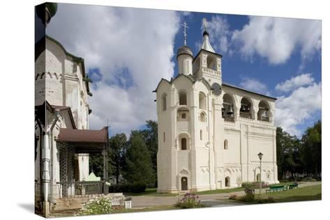 Russia, Suzdal, Gabled Belfry--Stretched Canvas Print