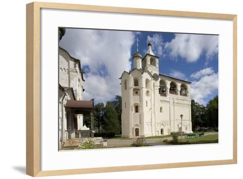 Russia, Suzdal, Gabled Belfry--Framed Art Print