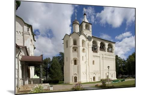 Russia, Suzdal, Gabled Belfry--Mounted Giclee Print