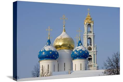 Russia, Golden Ring, Sergiev-Posad--Stretched Canvas Print