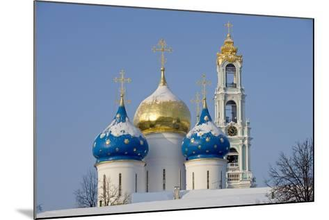 Russia, Golden Ring, Sergiev-Posad--Mounted Giclee Print