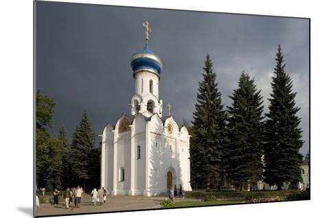 Russia, Sergiev Posad, Church of Holy Spirit at Trinity St Sergius Monastery--Mounted Giclee Print