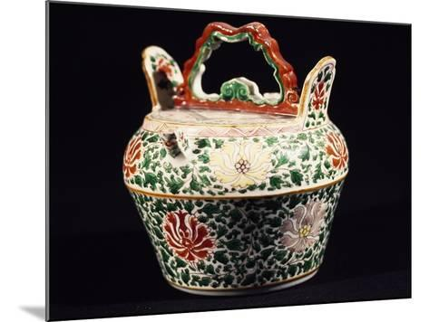 Container with Lid, Porcelain, Ming Period, 14th-17th Century--Mounted Giclee Print