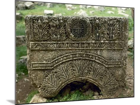 Syria, Basilica of Saint Simeon Stylites, 5th Century, Relief, Cross--Mounted Giclee Print
