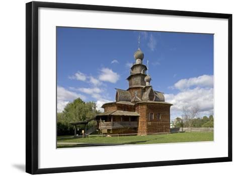 Russia, Suzdal, Church of Transfiguration--Framed Art Print