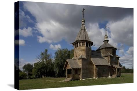 Russia, Suzdal, Church of Transfiguration--Stretched Canvas Print
