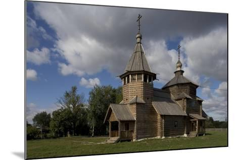 Russia, Suzdal, Church of Transfiguration--Mounted Giclee Print
