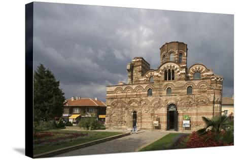Bulgaria, Nesebar, Church of Christ Pantocrator--Stretched Canvas Print