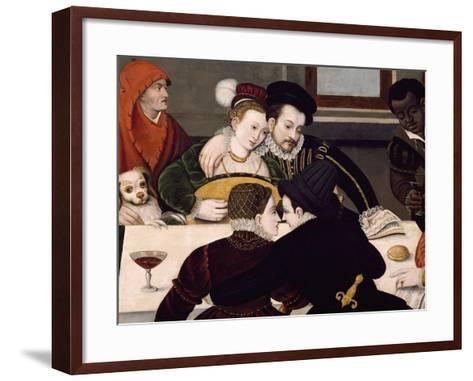 Galant Breakfast--Framed Art Print