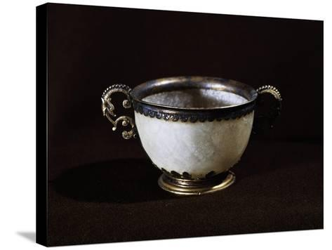 Cup That Once Belonged to Giovanni Calvino, France, 16th Century--Stretched Canvas Print