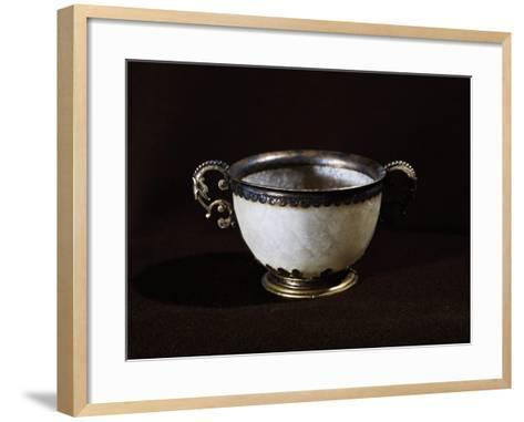 Cup That Once Belonged to Giovanni Calvino, France, 16th Century--Framed Art Print