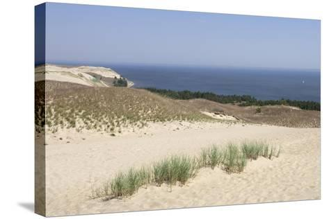 Lithuania, Klaipeda County, Curonian Spit, Beach--Stretched Canvas Print