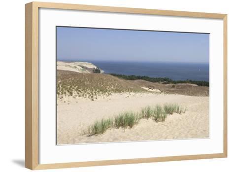 Lithuania, Klaipeda County, Curonian Spit, Beach--Framed Art Print