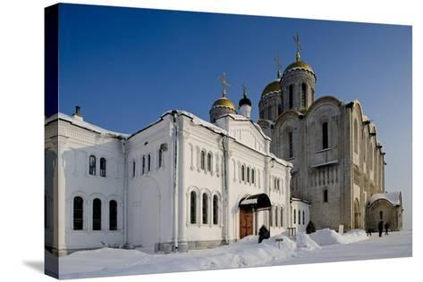 Russia, Golden Ring, Vladimir, Assumption Cathedral--Stretched Canvas Print