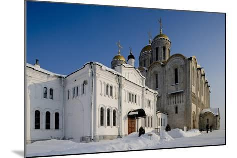 Russia, Golden Ring, Vladimir, Assumption Cathedral--Mounted Giclee Print