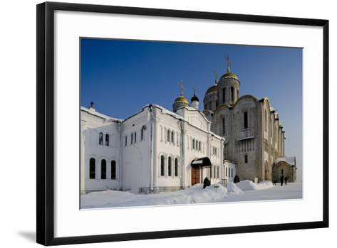 Russia, Golden Ring, Vladimir, Assumption Cathedral--Framed Art Print