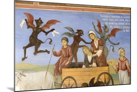 Bulgaria, Rila Monastery at Church of Nativity of Virgin--Mounted Giclee Print