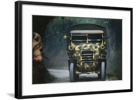 Meeting of Military Vehicles, Fiat Spa 35, 1935--Framed Art Print