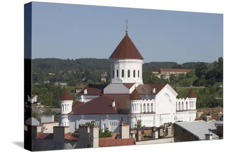 Lithuania, Vilnius, Old Town, Orthodox Church of Assumption--Stretched Canvas Print
