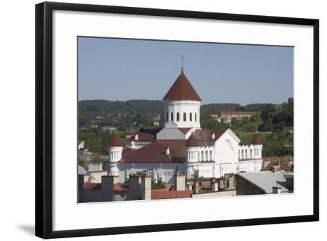 Lithuania, Vilnius, Old Town, Orthodox Church of Assumption--Framed Art Print