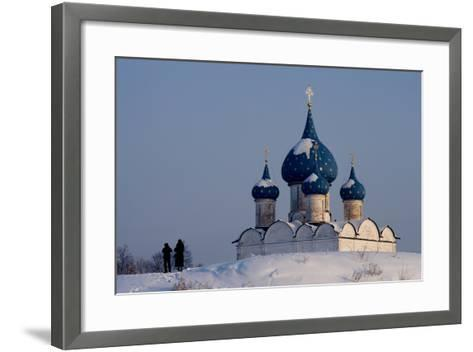 Russia, Golden Ring, Sudzal, Cathedral of Nativity of Virgin--Framed Art Print