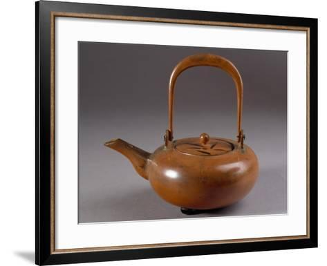Lacquer Teapot, China--Framed Art Print