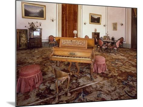 Music Room in National Palace of Mafra--Mounted Giclee Print
