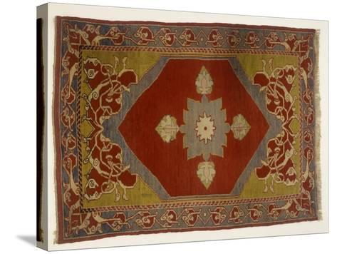 Rugs and Carpets: Turkey - Melas Carpet--Stretched Canvas Print