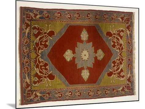 Rugs and Carpets: Turkey - Melas Carpet--Mounted Giclee Print